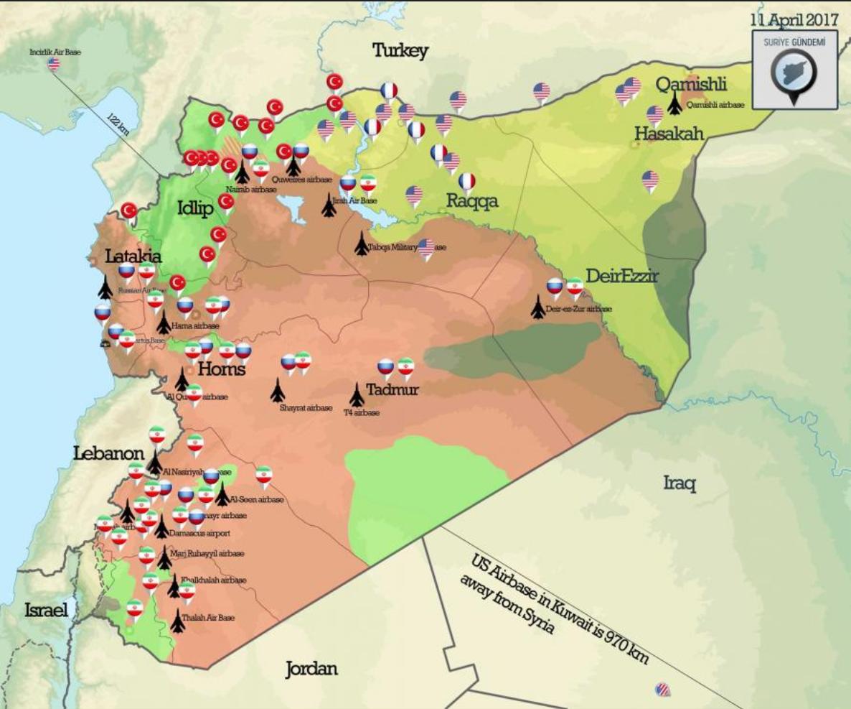 Syrien Karte Aktuell 2018.Die Eskalation Zum Globalen Krieg Wer Ist Wer Und Wer Ist Wo In