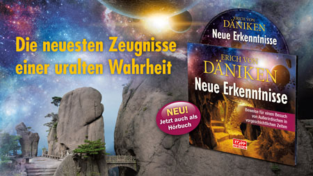 Hörbuch: Neue Erkenntnisse von Erich von Däniken