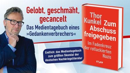 Buch: Zum Abschuss freigegeben von Thor Kunkel