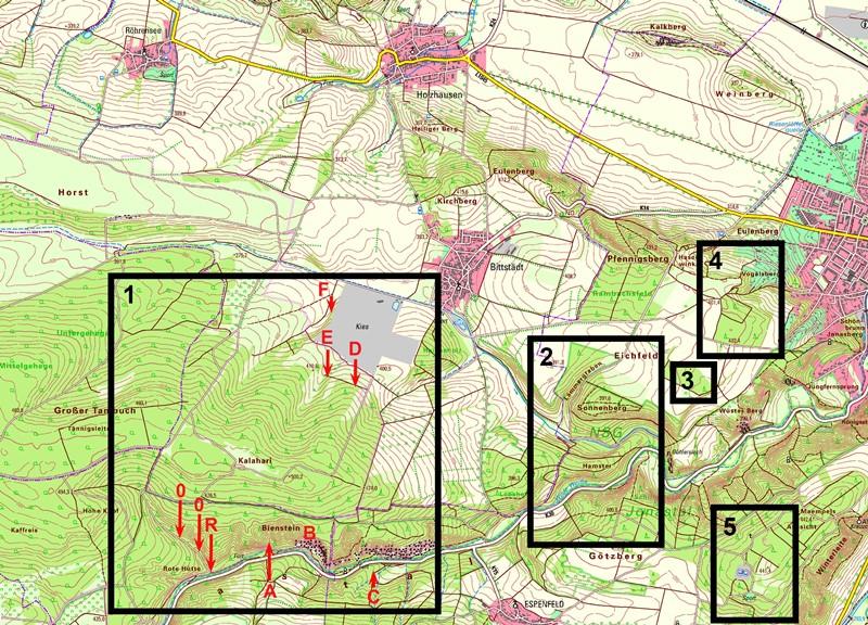 KOPP_Repor_Abbildung-2-Karte-Großer-Tambuch-Arnstadt-Jonastal-mit-U-Anlagen-Bereichen